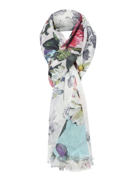 Ted Baker Union jack oil painting scarf