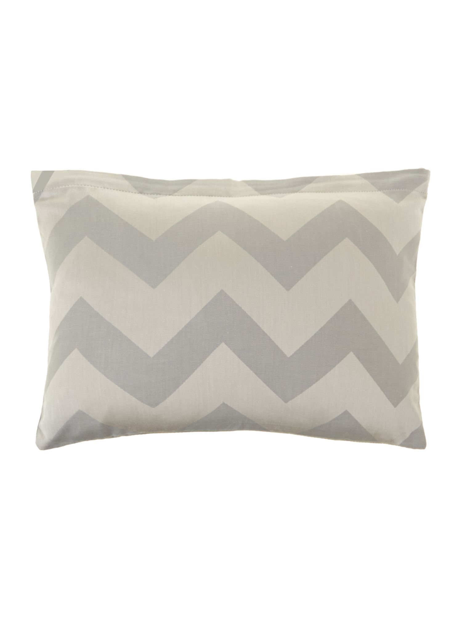 Slate chevron cushion