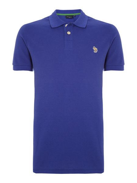 Paul Smith Jeans Regular fit zebra polo shirt