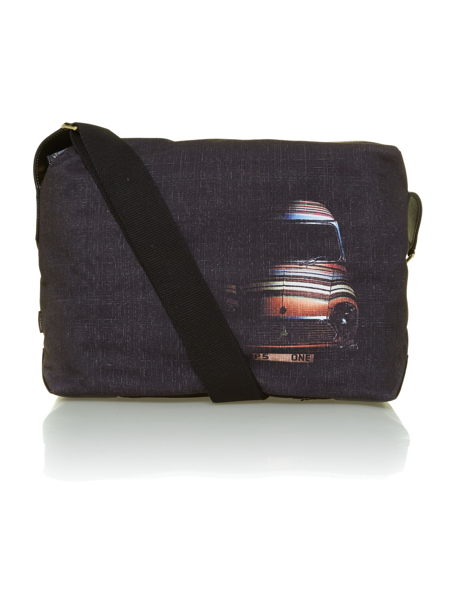 Car graphic messenger bag