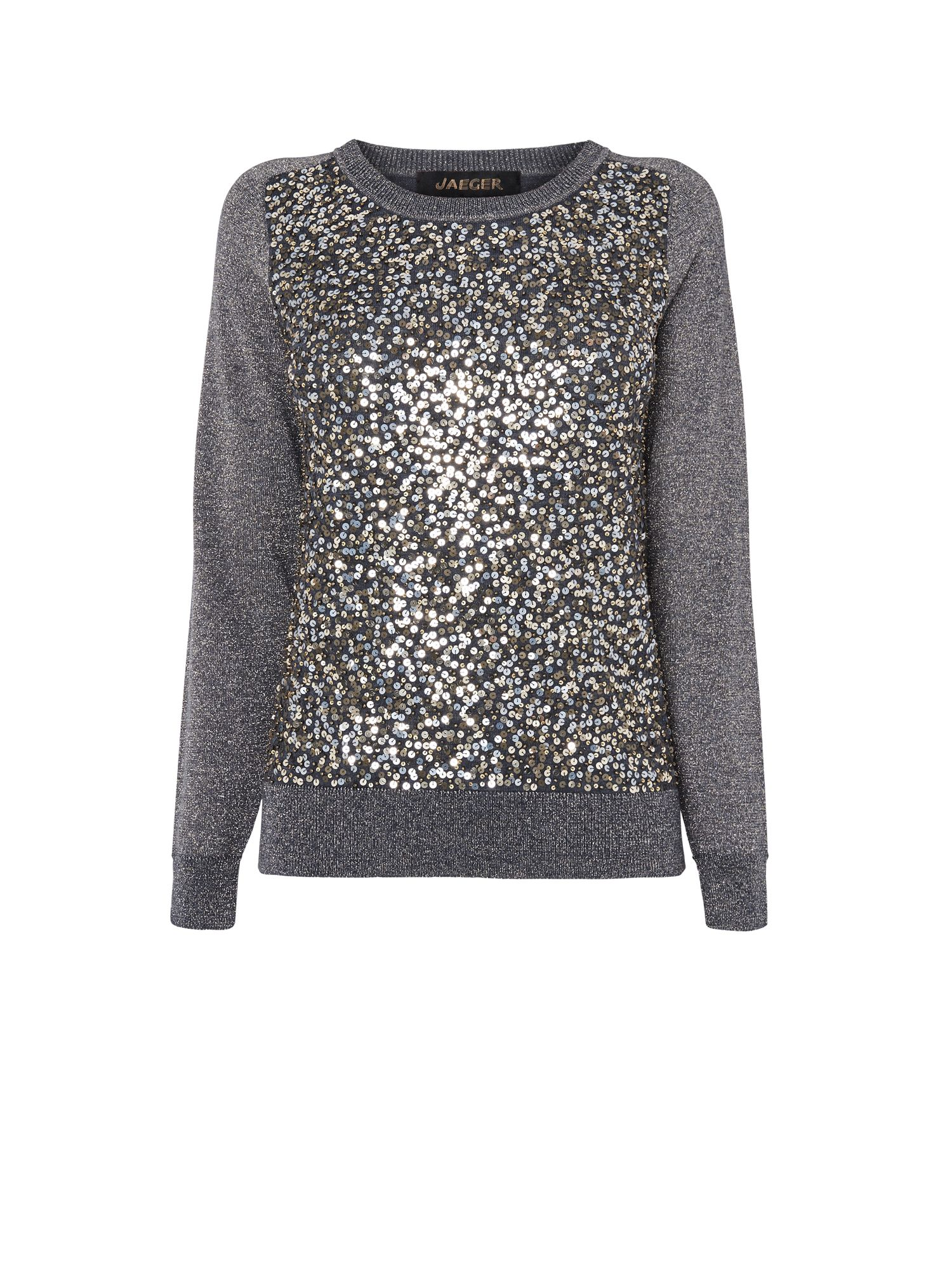 Sequin and Lurex Sweater