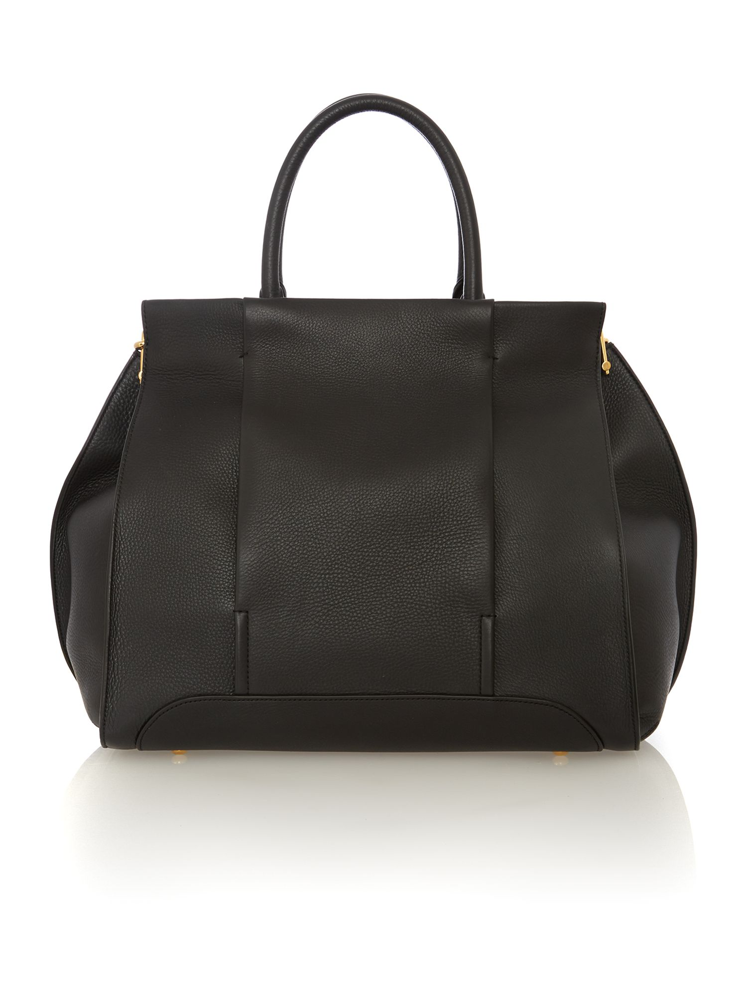Edgar black tote bag