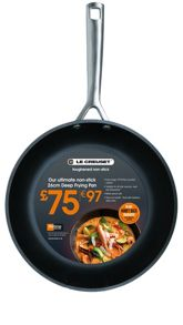 26cm Toughened Non-Stick Deep Frying Pan