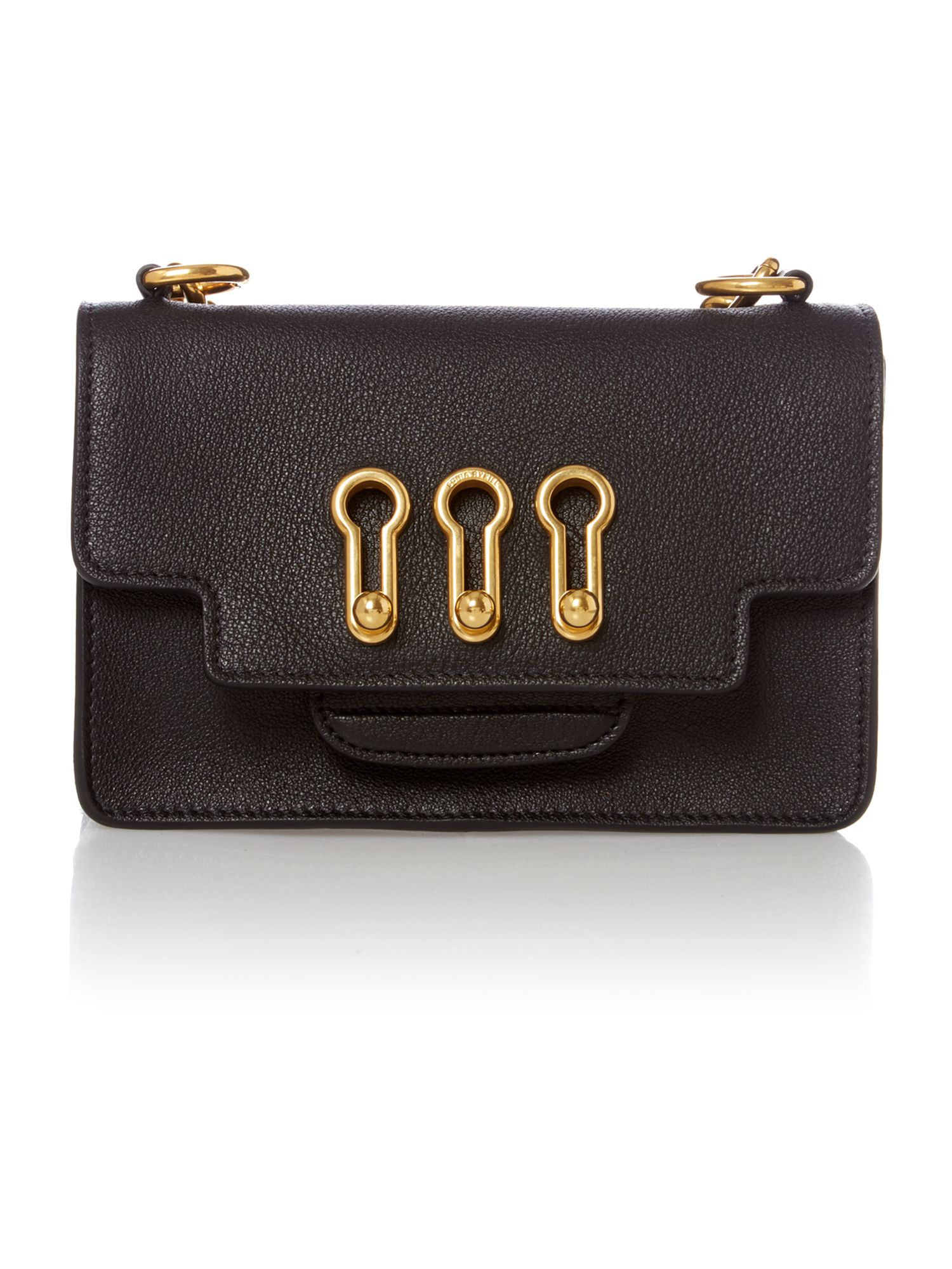 Grenelle black small crossbody bag