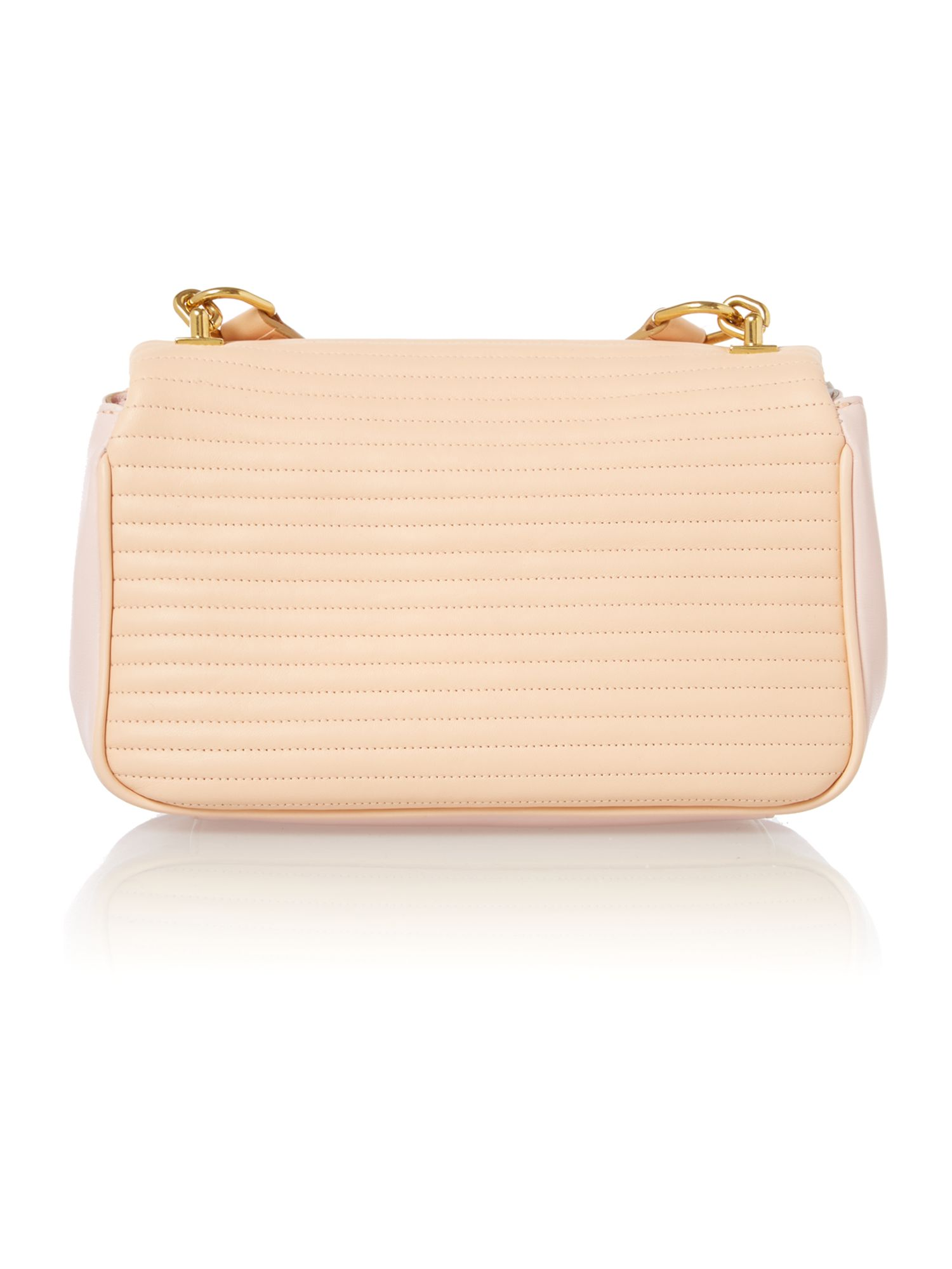 Jean pink small shoulder bag