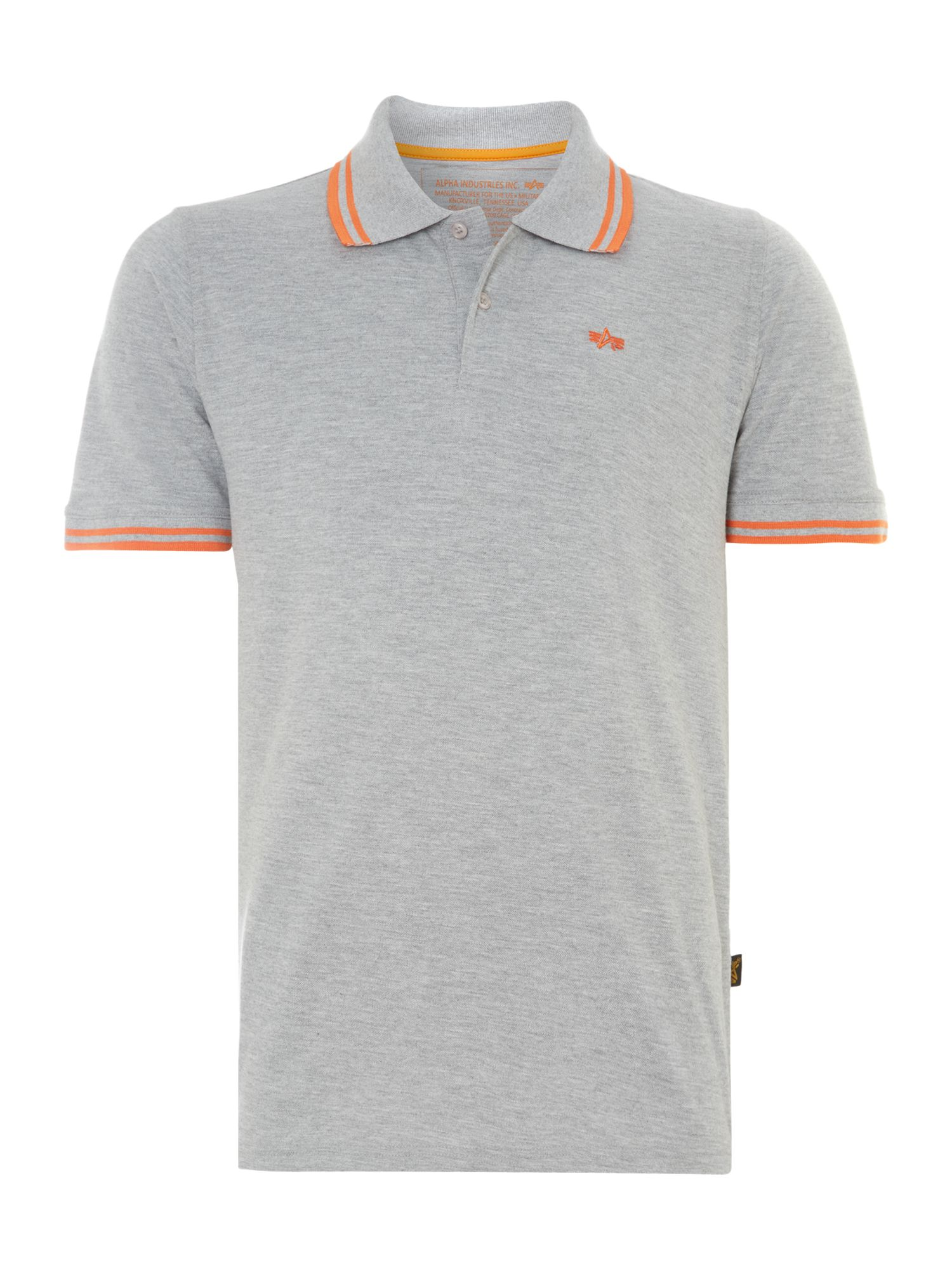 Twin stripe polo