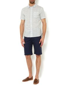 Pocasset print short sleeved shirt
