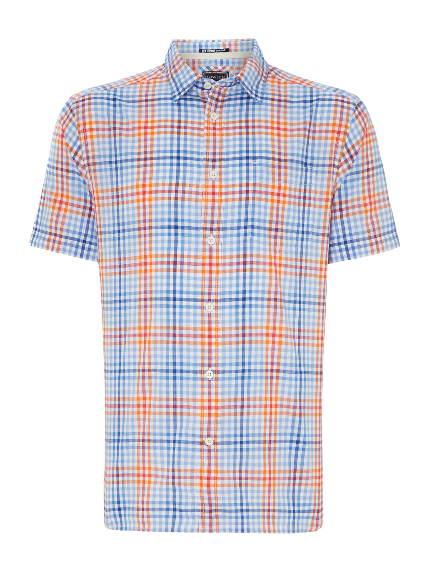 ripley gingham short sleeved shirt