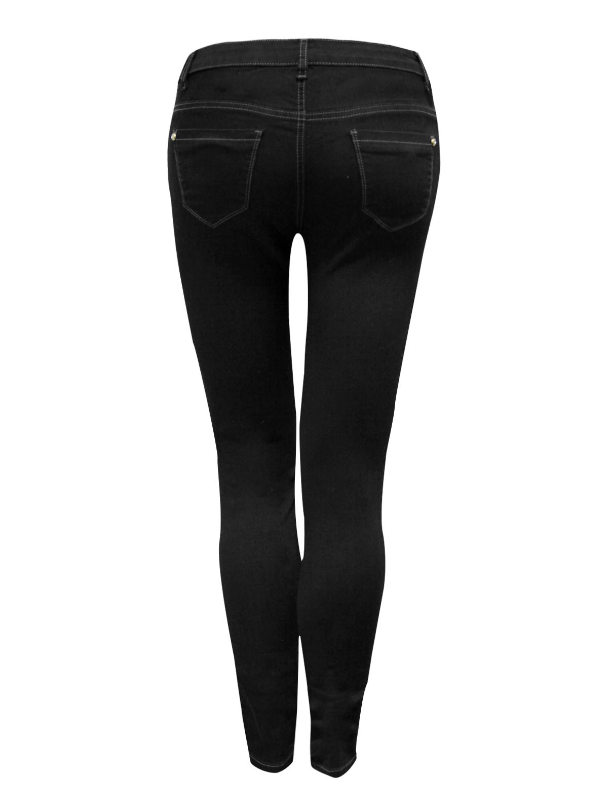 Side zip jeggings
