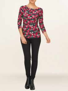 Gracie graphic print top
