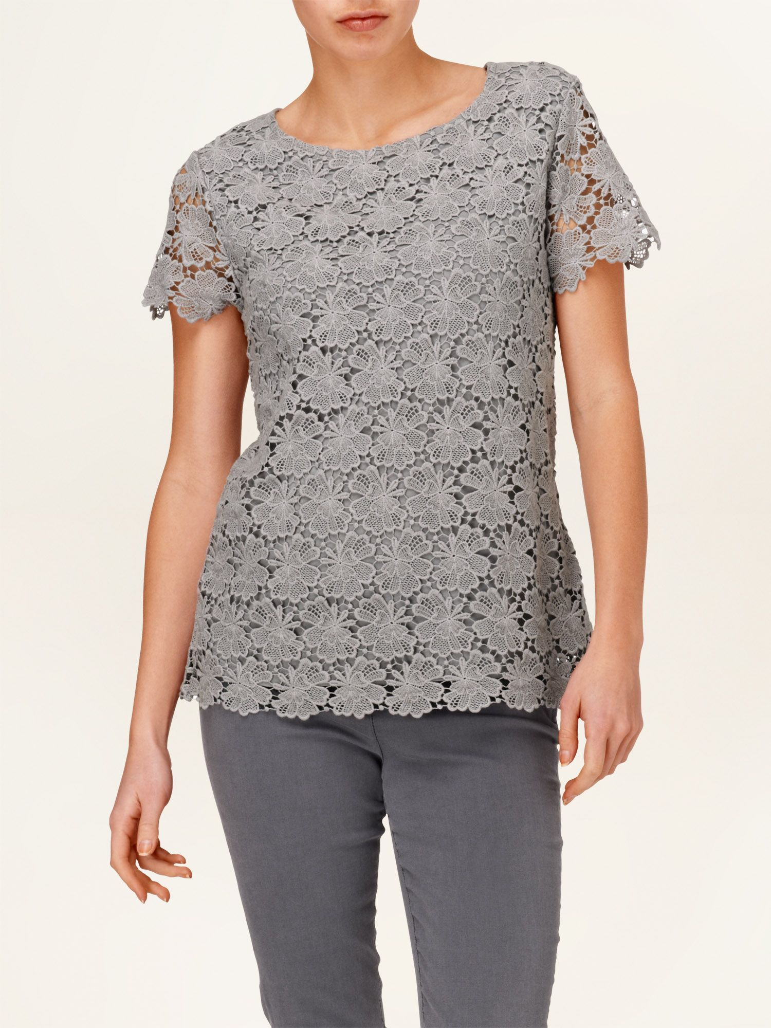 Maeve crochet lace top