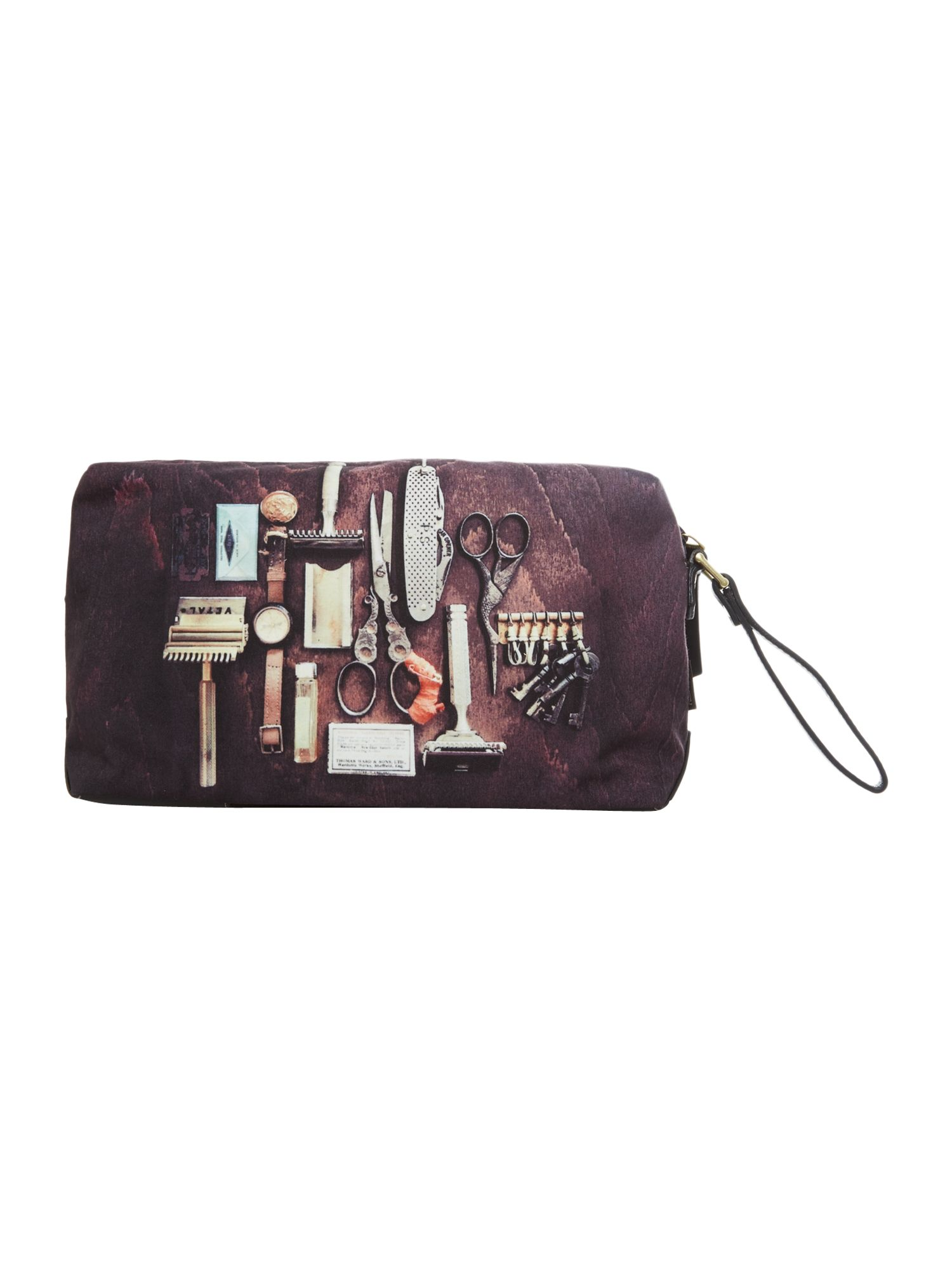 Grooming tools graphic washbag