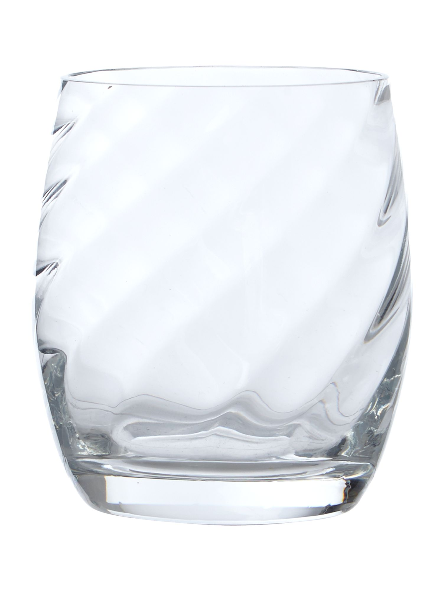 Optic clear tumbler