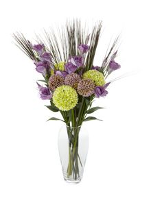 Linea Mauve allium single stem