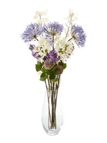 Linea White agapanthus single stem