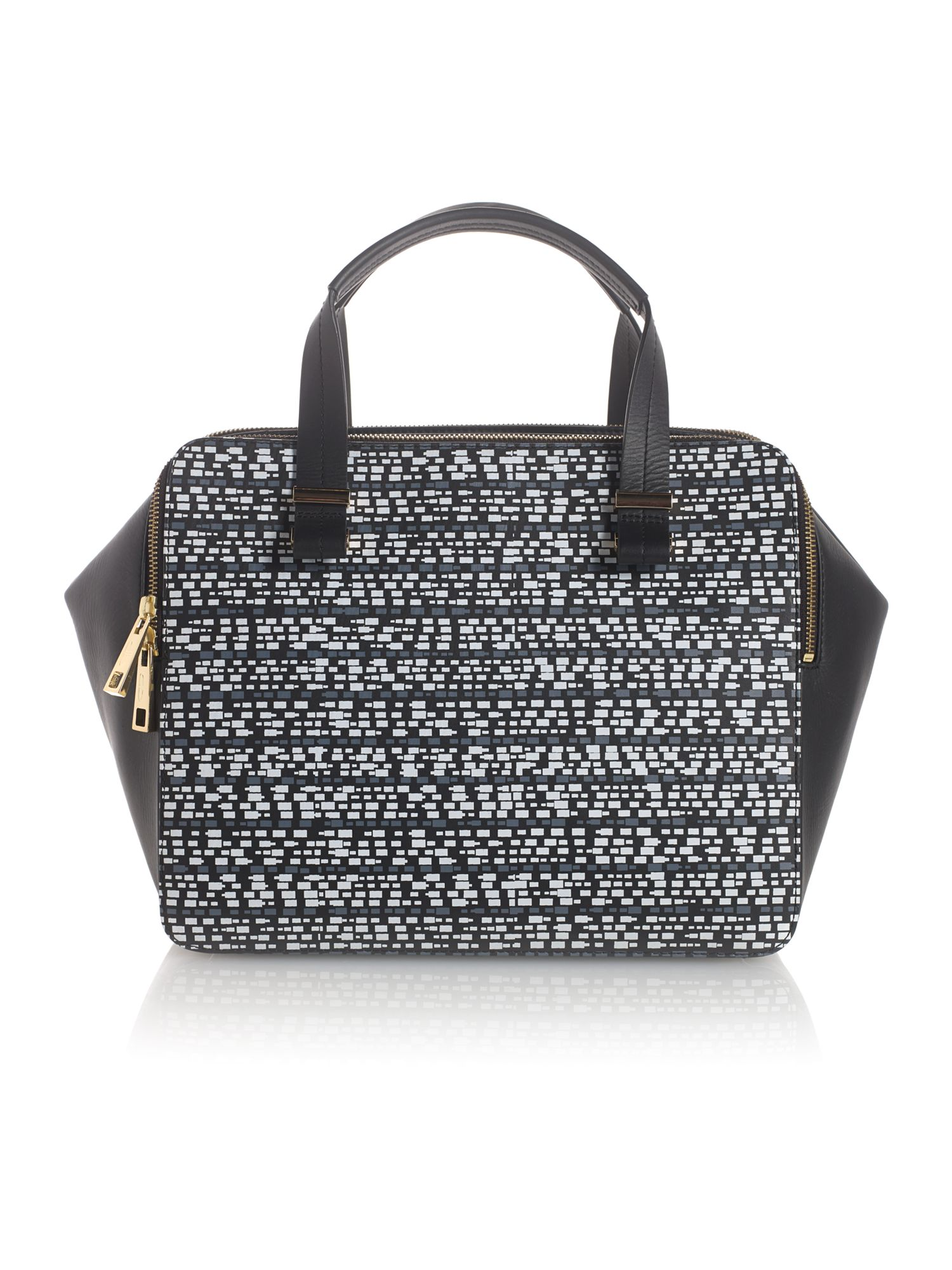 Pisces double zip bowler bag