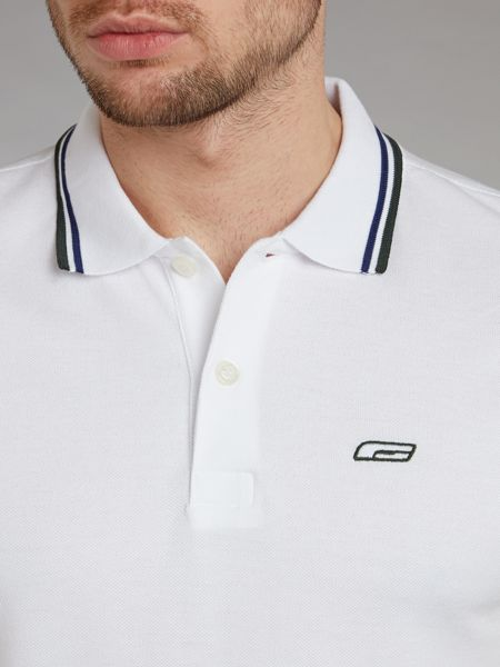 Jack & Jones Short-Sleeved Tipped Polo Shirt