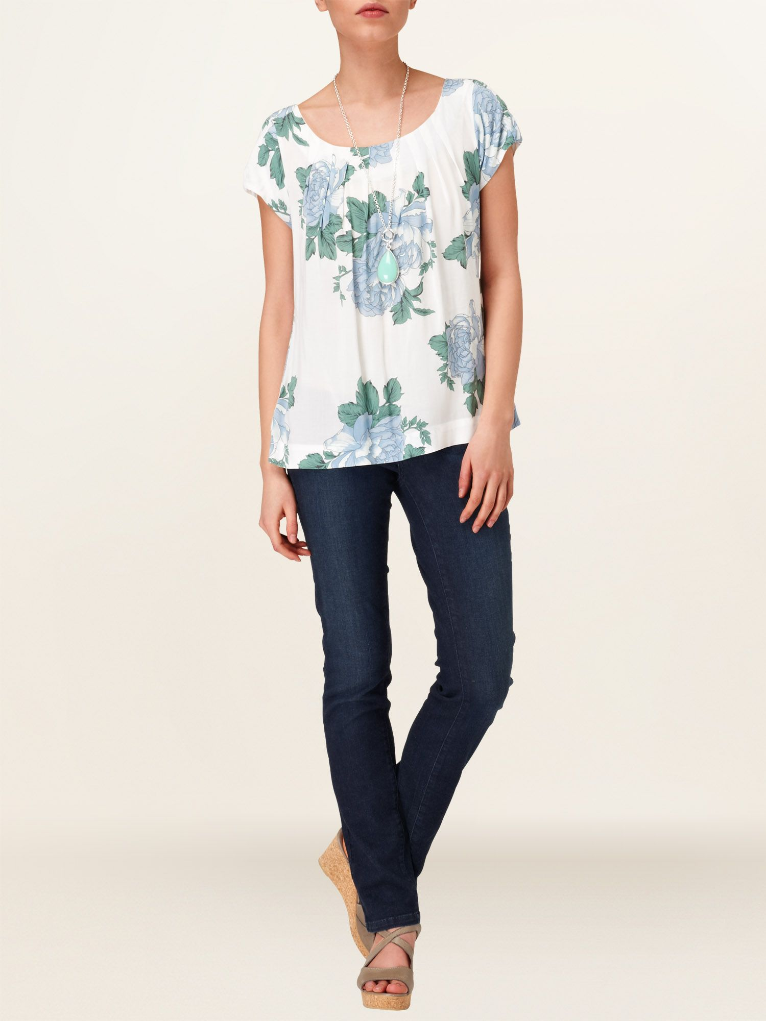 Sandy floral blouse
