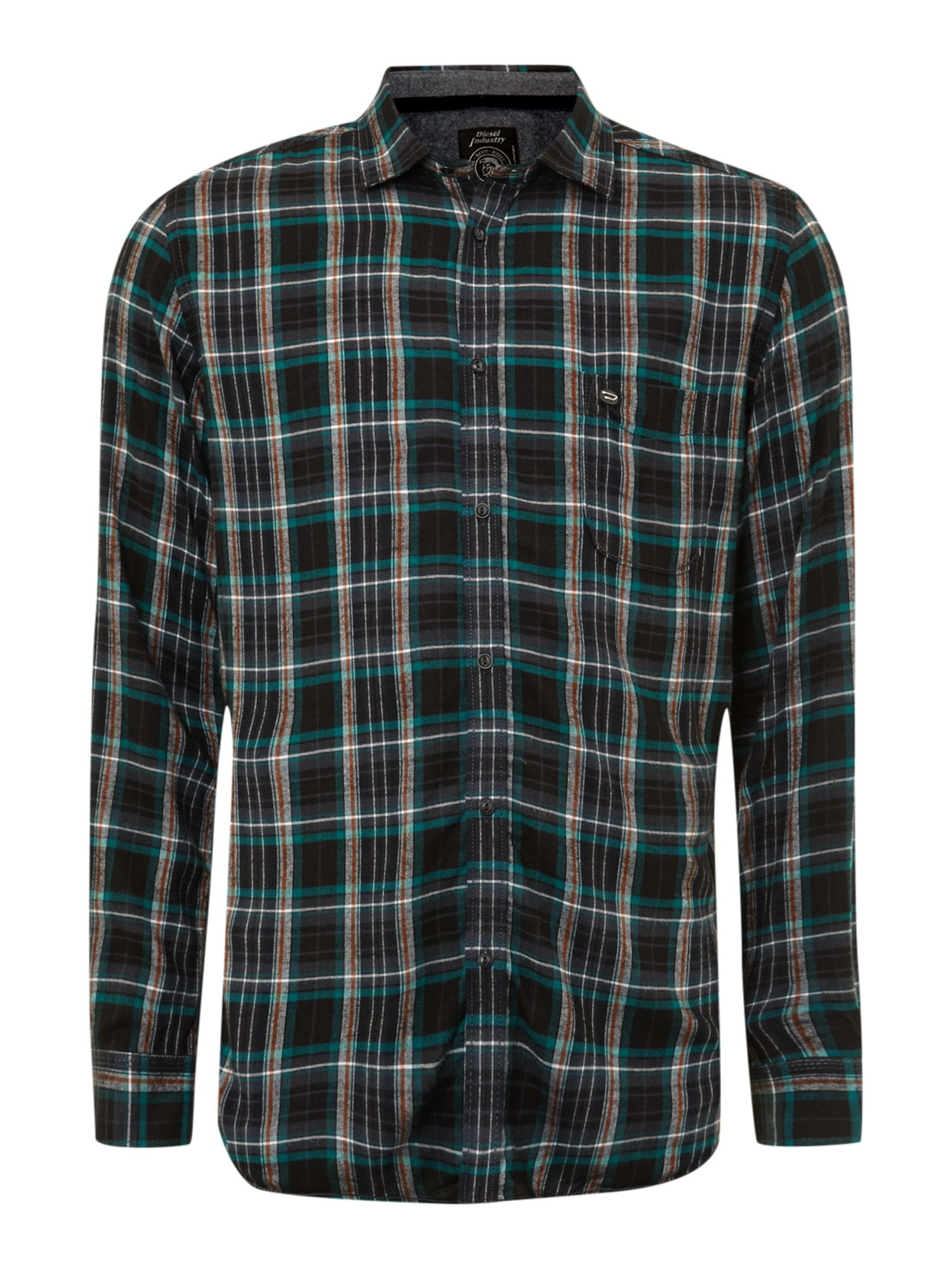 Light Flannel Long Sleeve Check