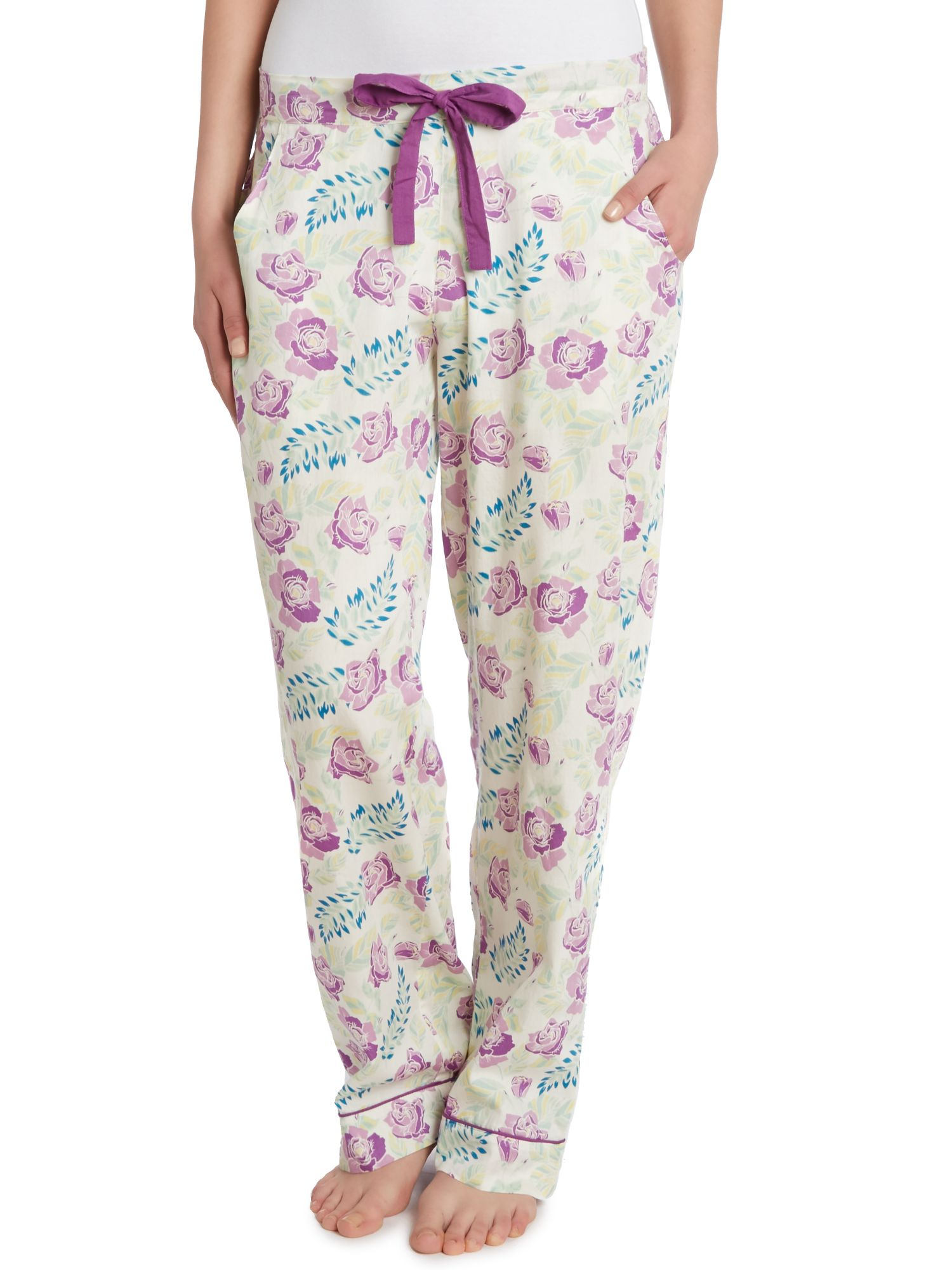 Evelyn vintage floral pj trouser