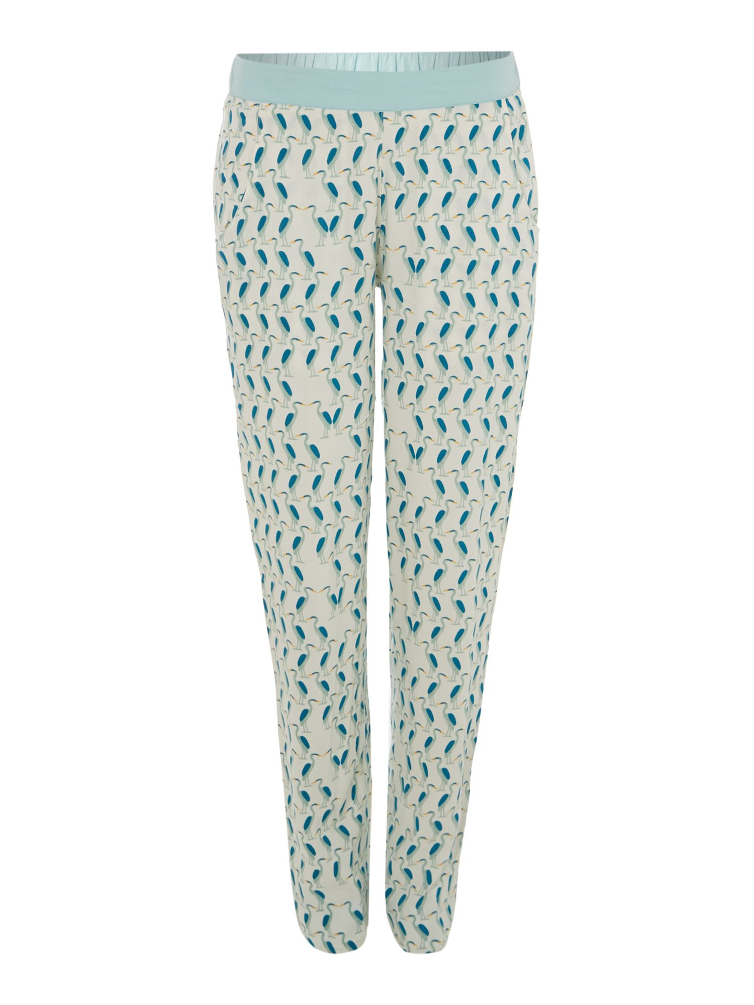 Sienna mirror bird print pj trouser