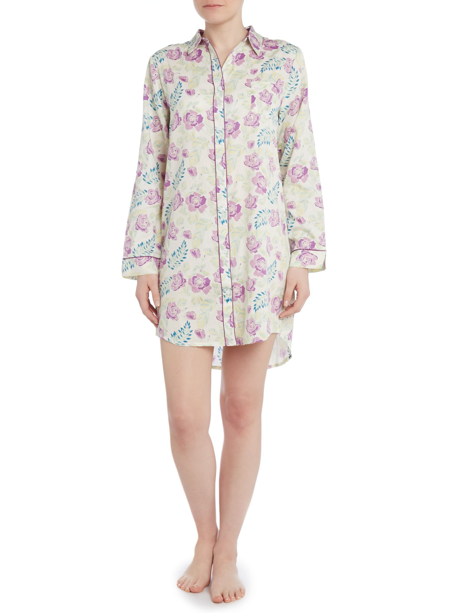 Evelyn vintage floral nightshirt