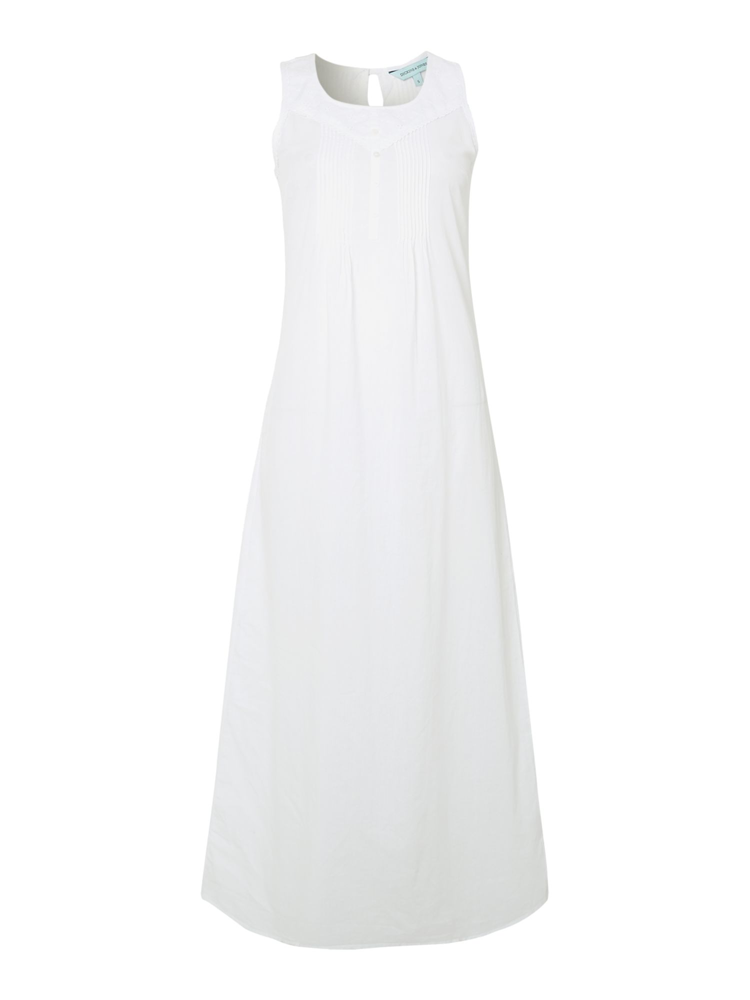Susan broderie anglaise long nightdress