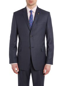 Ted Baker Hawjak sterling regular fit melange suit jacket