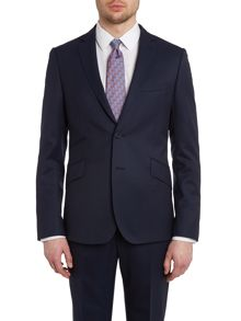 Winger slick rick extra slim fit solid jacket