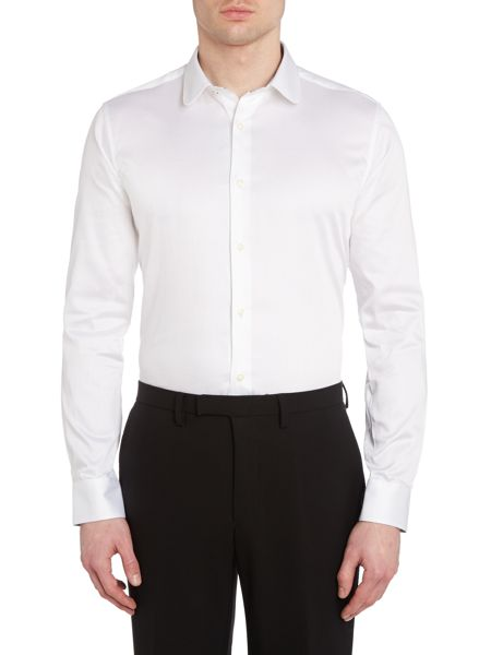 Ted Baker Rosecol Slim Fit Poplin Sheen Shirt