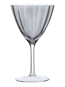 Smoke Optic wine glass