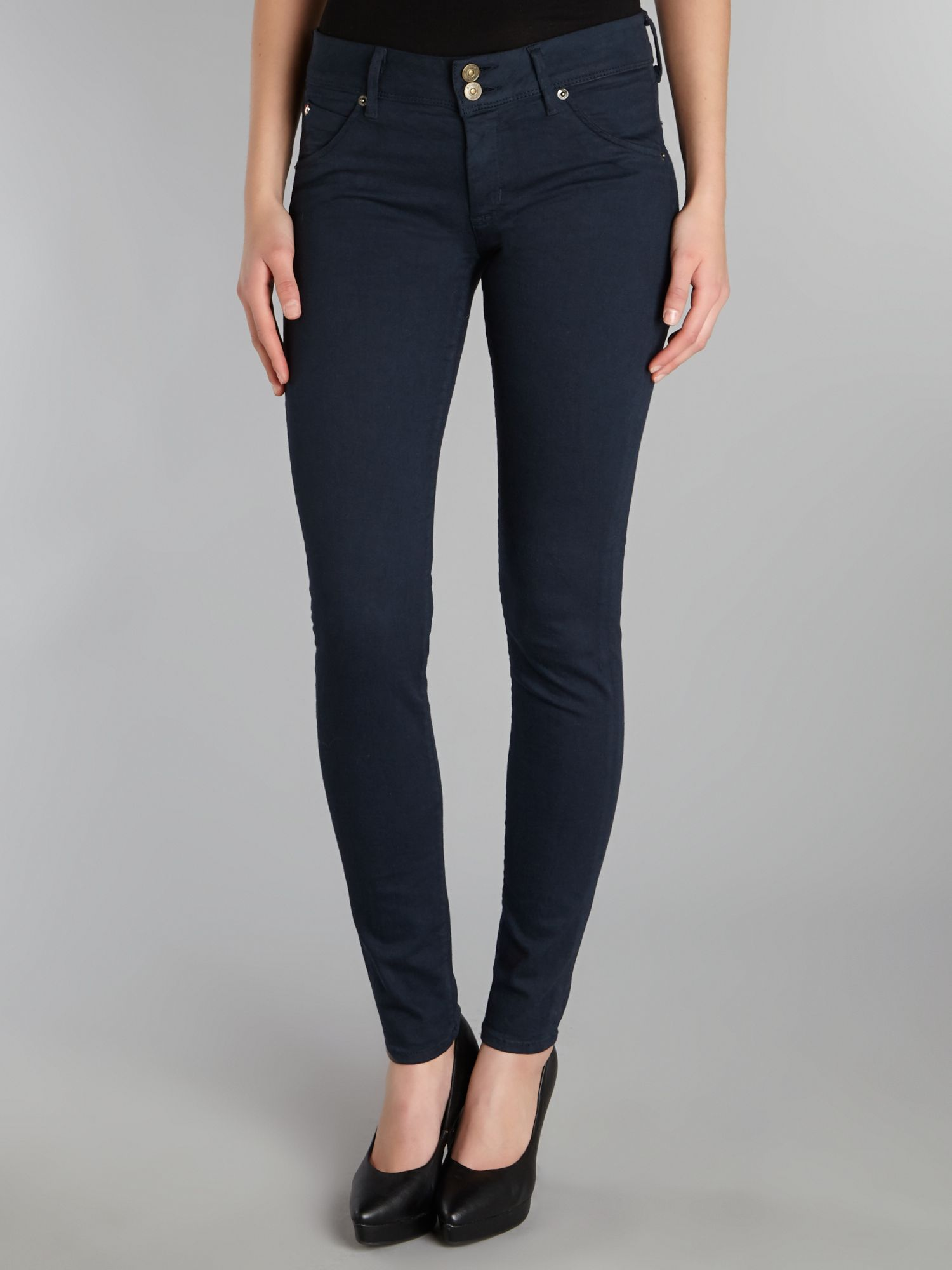 Collin signature skinny jeans in Petrol Blue