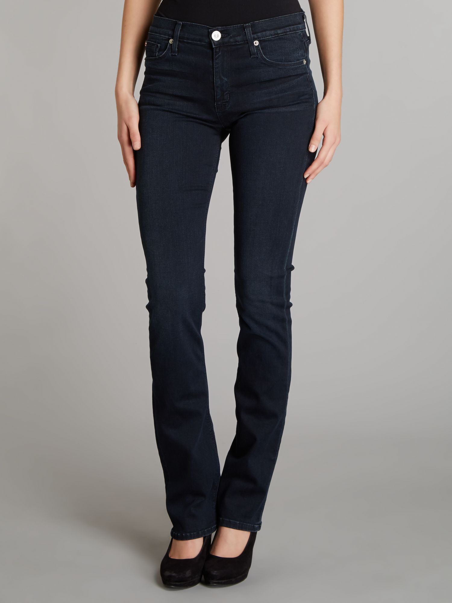 Elle baby bootcut jeans in Unseen