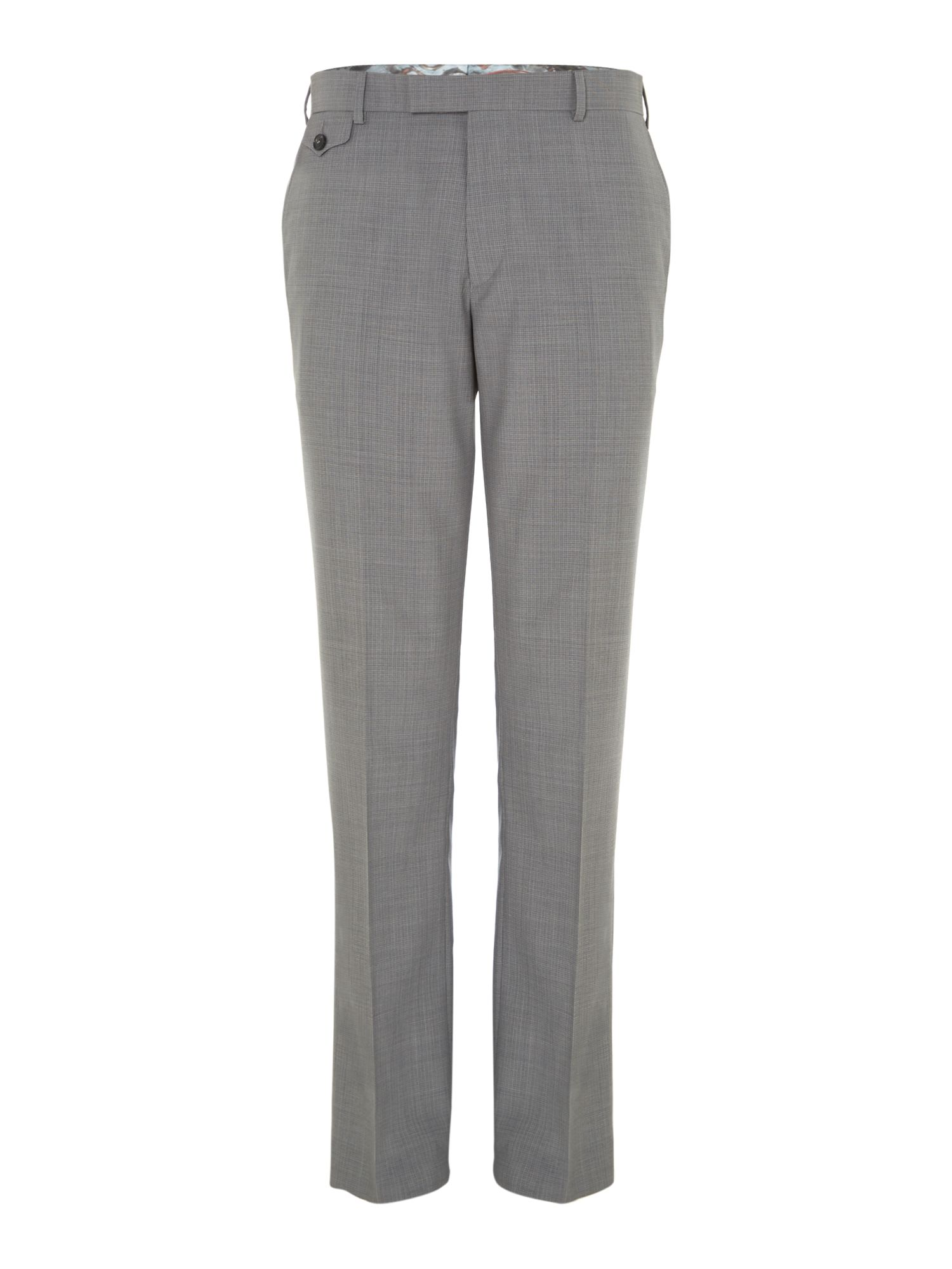 Rustro sterling regular fit crosshatch trouser