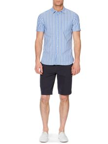newport blues stripe short