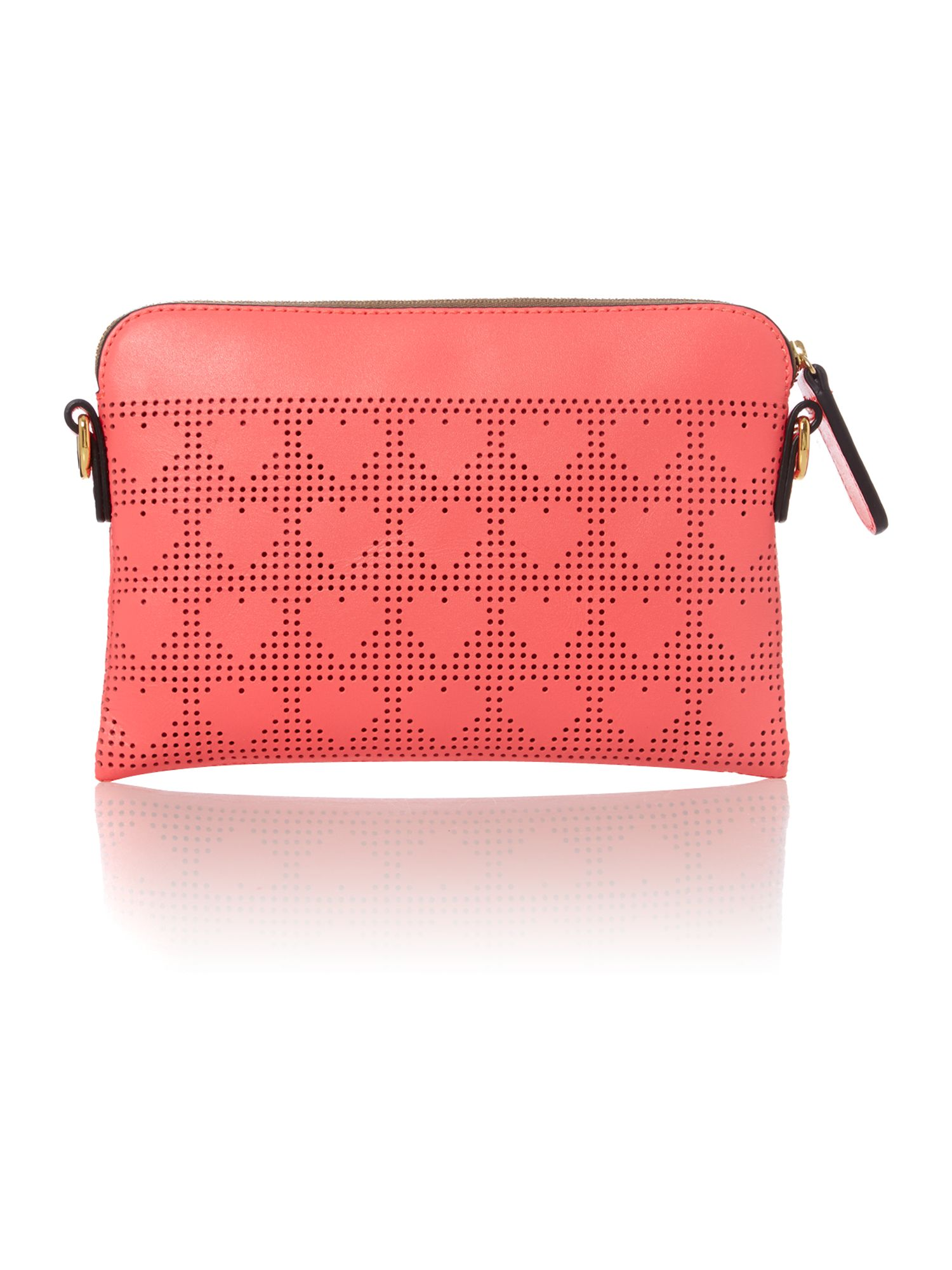Punch love heart mini pink cross body bag