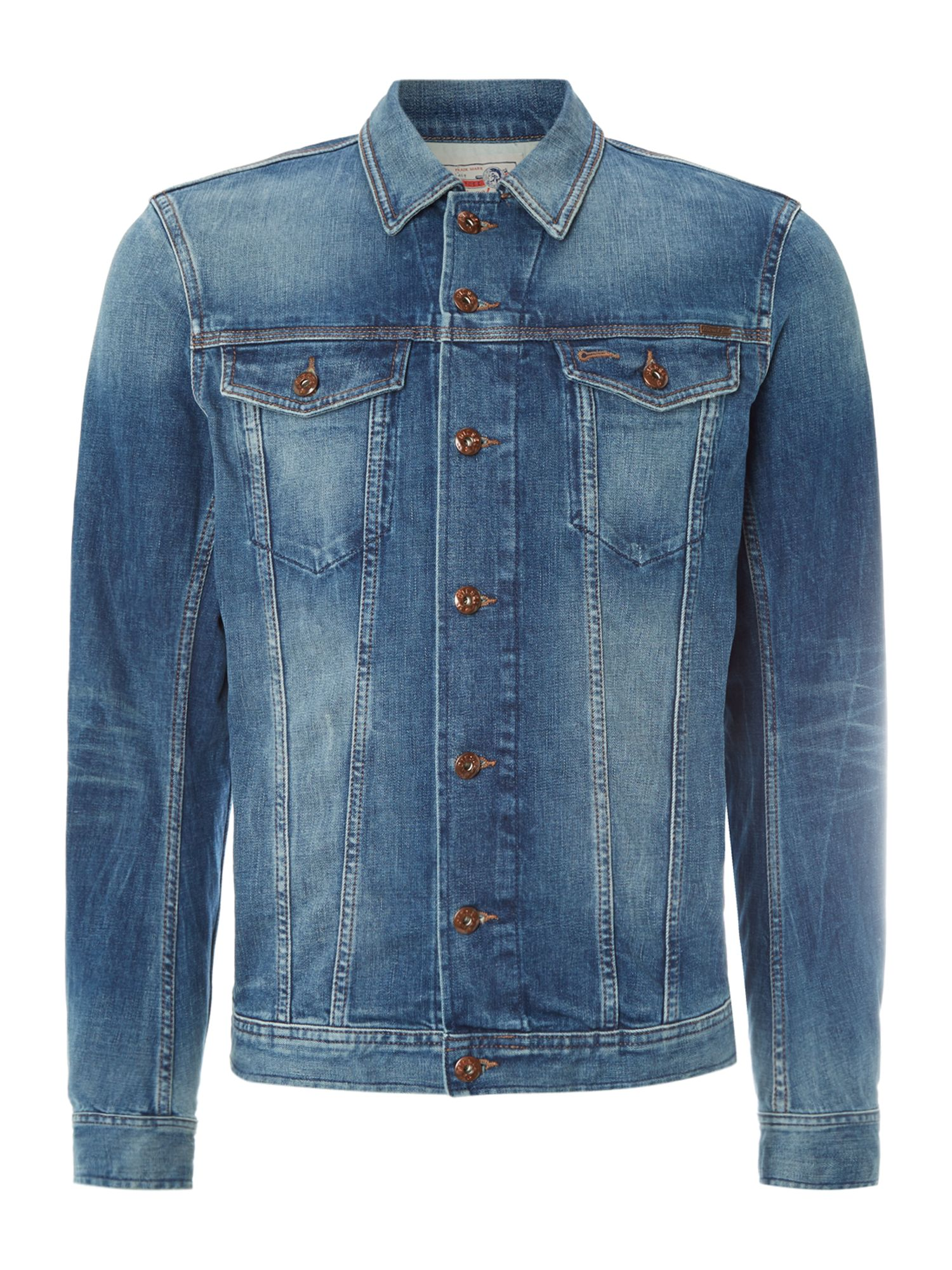 Two pocket denim jacket
