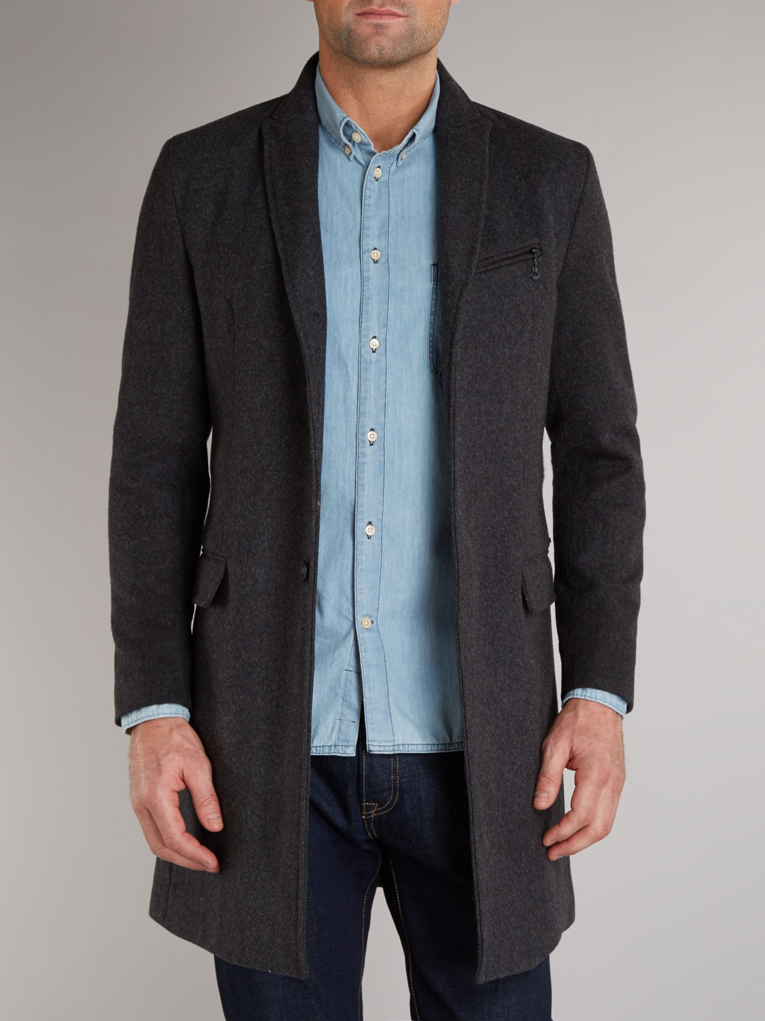 Three quarter length jacket