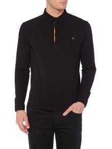 Farah D`Lacy Long Sleeve Polo