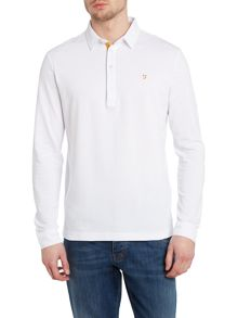 D`Lacy Long Sleeve Polo