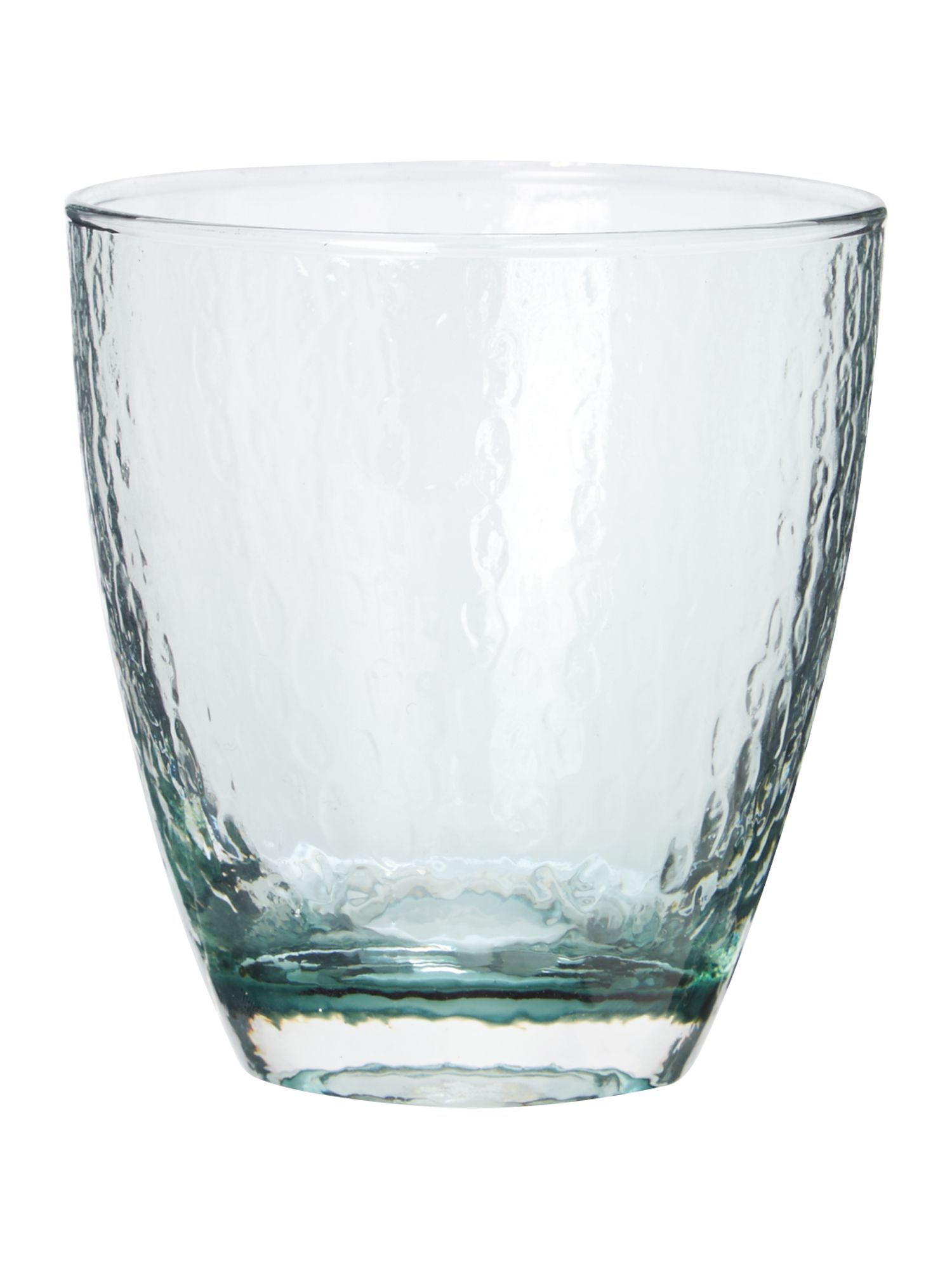 Ice pattern water glass in grey