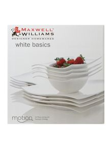 Motion 12 Piece Dinner Set