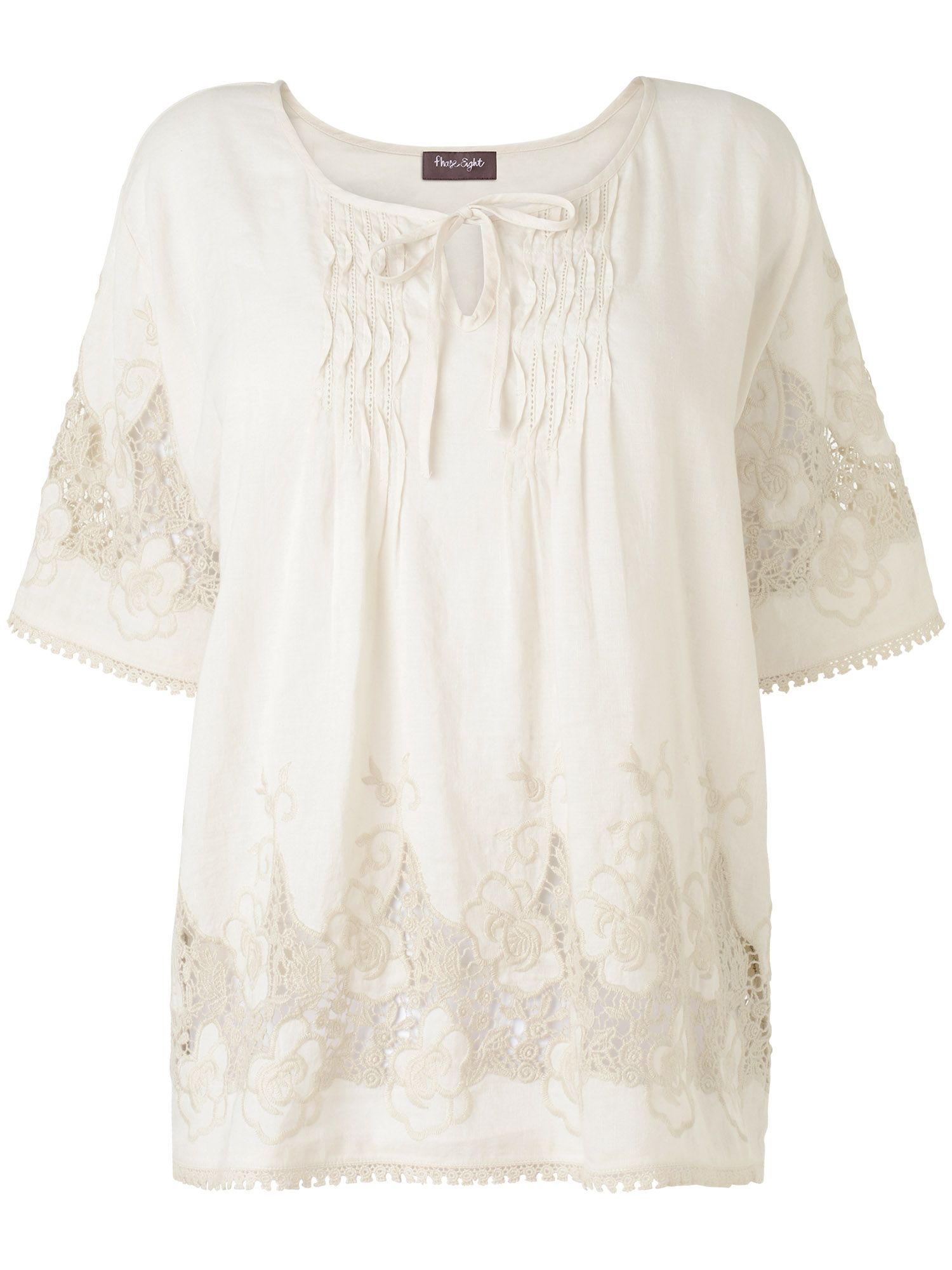 Ingrid embroidered blouse
