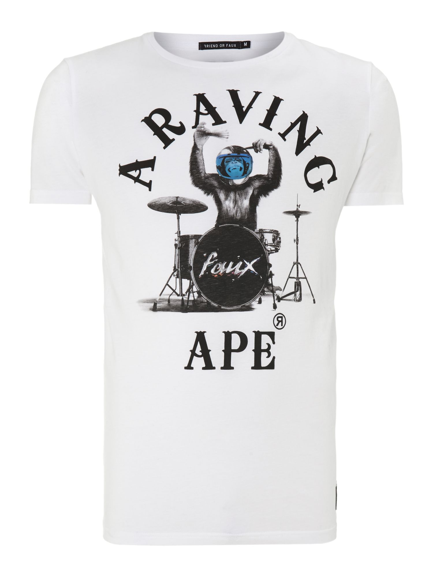 Raving apre print t-shirt