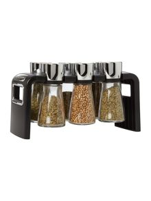 Cole & Mason 6 Jar Spice Rack