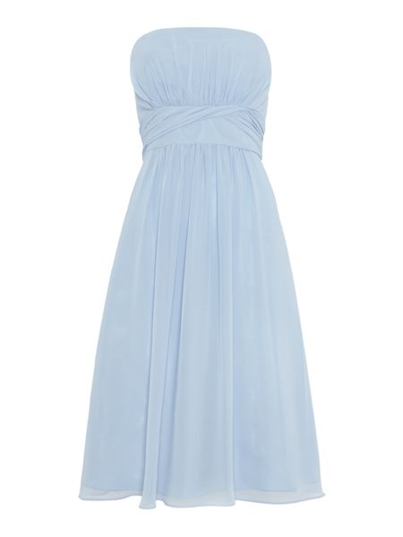 Ariella Strapless Bridesmaid Chiffon Dress