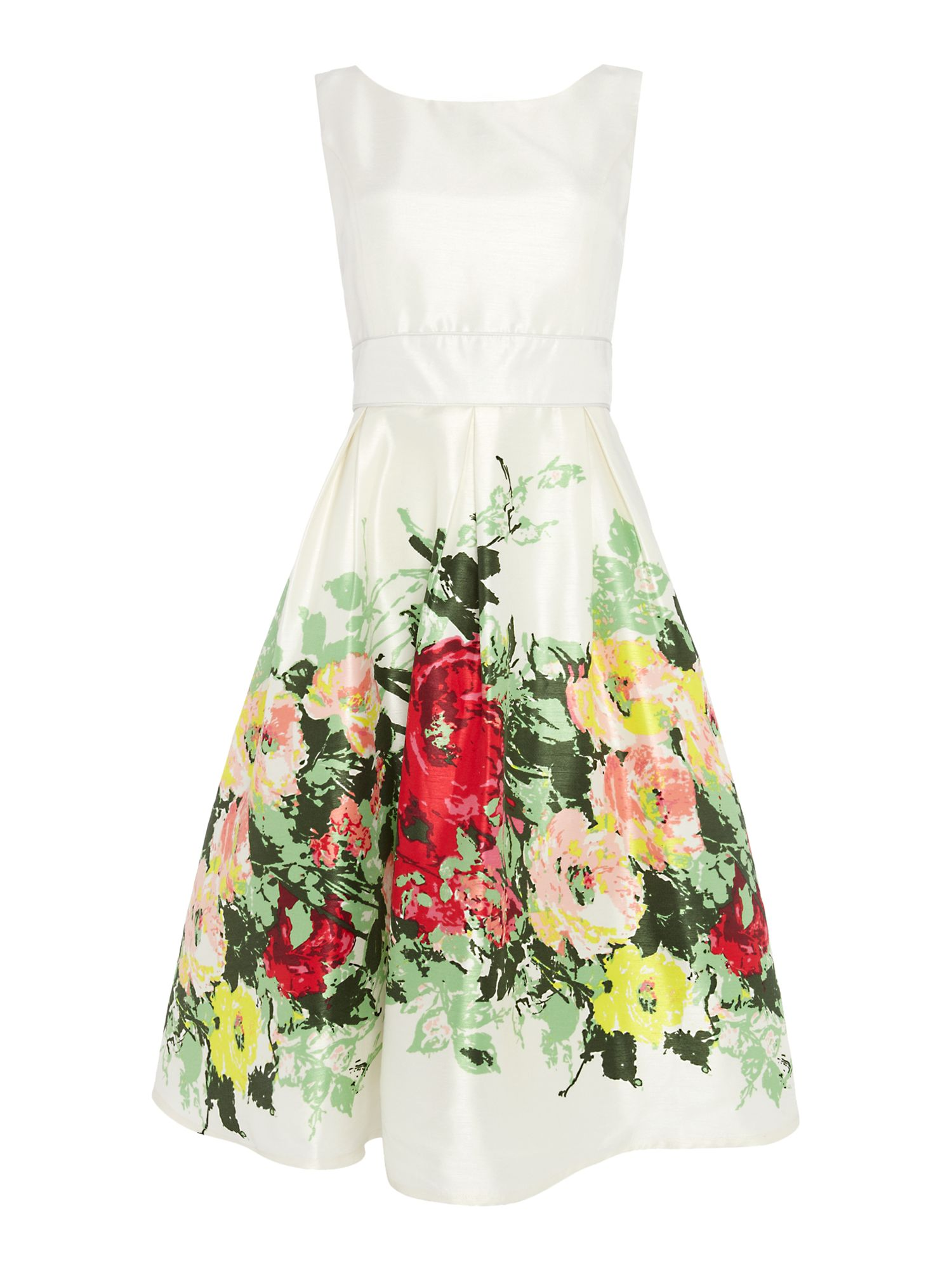 Country garden vintage dress