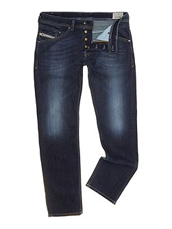 Men's Diesel Belther 814W Tapered Fit Stretch Jeans