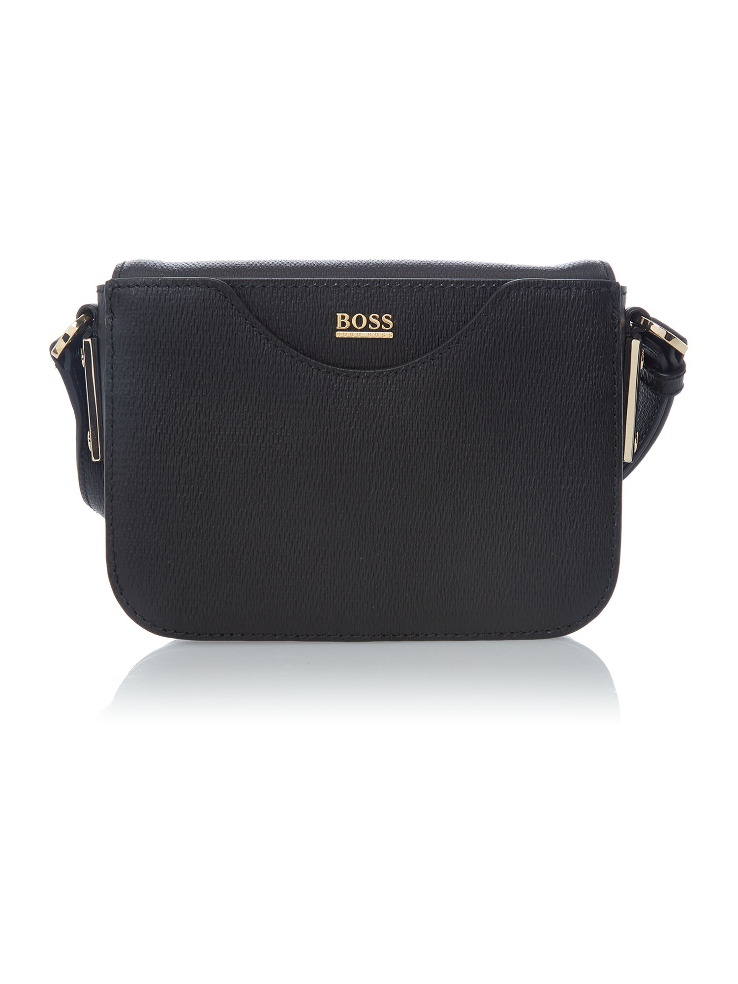Melia black small cross body bag