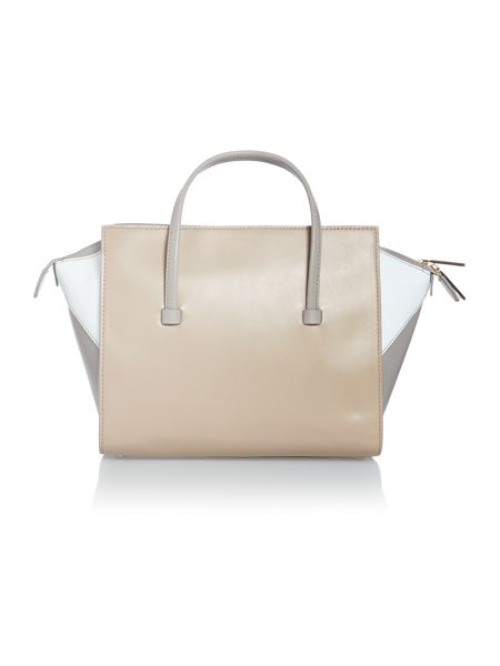 Hugo Boss Maika neutral trapeze tote